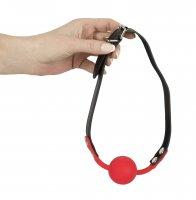 Vorschau: Roter Mundknebel aus Silikon