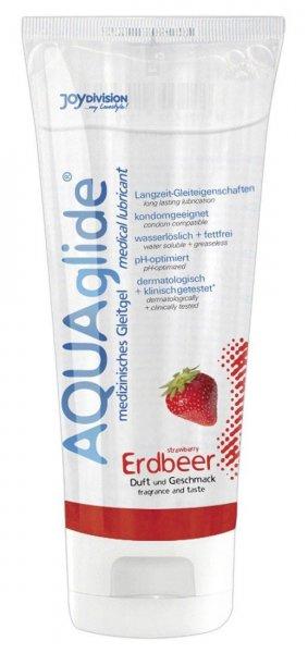 Gleitgel mit Erdbeerduft und -Aroma!