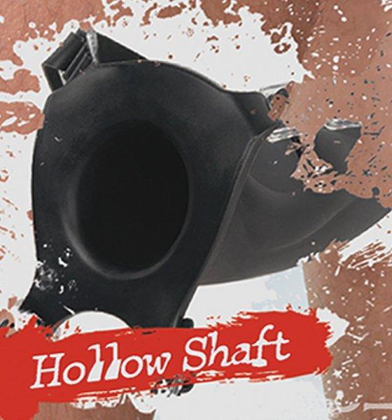 Silicone Hollow Strap-on Innen-Ø 3,2 cm