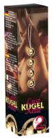 Vorschau: Liebeskugeln mit 24 karätiger Goldauflage