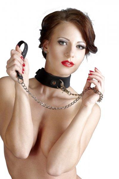 Silikon-Halsband mit Leine sanft und weich