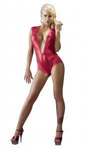 Dessous Body in rot Body rot S