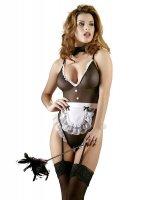 Vorschau: Dienstmädchen Kostüm Body