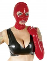 Vorschau: Rote Latex Kopfmaske