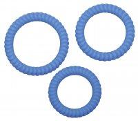 Vorschau: 3 Penisringe mit Rillenstruktur 2,6, 3,0 und 3,5 cm