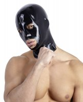 Vorschau: Latex Kopfmaske in schwarz