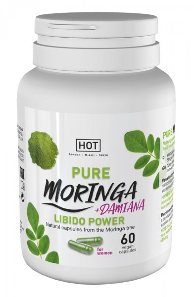 Pure Moringa + Damiana Libido Power
