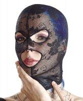 Vorschau: Leichte Kopfmaske aus Spitze