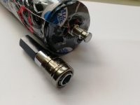 Vorschau: Schnellkupplung für Fickmaschinen mit M8 Gewinde
