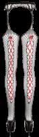 Vorschau: Strapsstrumpfhose Netz