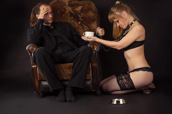 Dom-BDSM-Paar