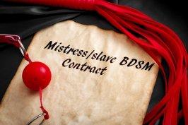 Der Sklavenvertrag als Muster - so kann er aussehen