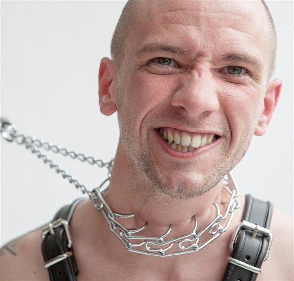 Halskette Chrome für extreme Bondagespiele