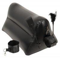 Vorschau: Inflatable Love Cushion for Couples - Portable Triangle Chushion