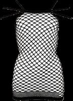 Vorschau: Netzkleid mit 3er Träger S-L