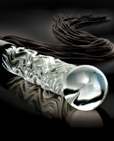 Vorschau: Glasdildo Hand Blown Glass Whip