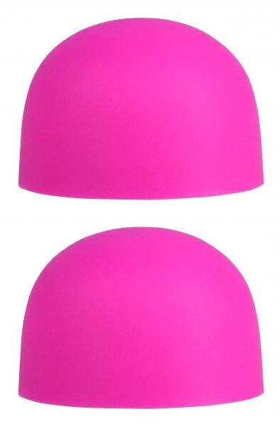 Ersatzaufsätze »Palm Caps« Pinkfarben