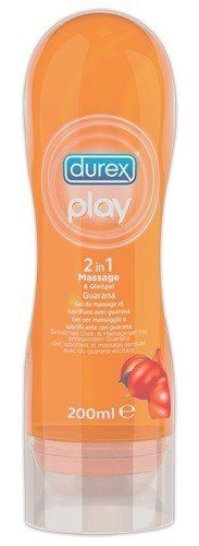 Durex Play 2 in 1 Guarana Latexkondomsicher