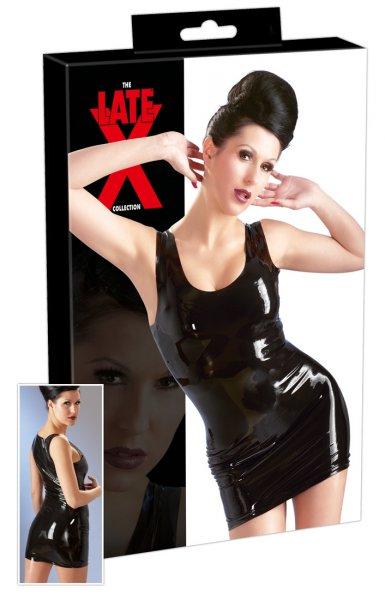 Latex-Minikleid