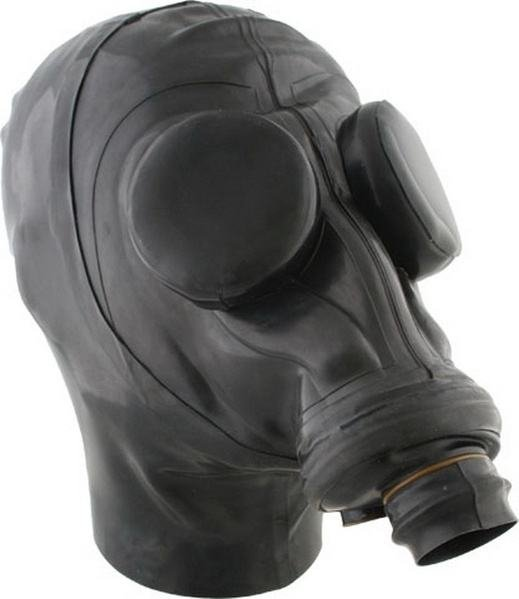 Russian Gasmask With Hood And Eyecaps L/XL