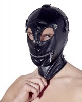 Vorschau: Maske mit Augenklappen und Reißverschluss