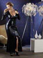 Vorschau: Wet-Look Kleid - Plus Size