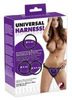 Vorschau: Universal Harness für Dildo mit drei Ringen