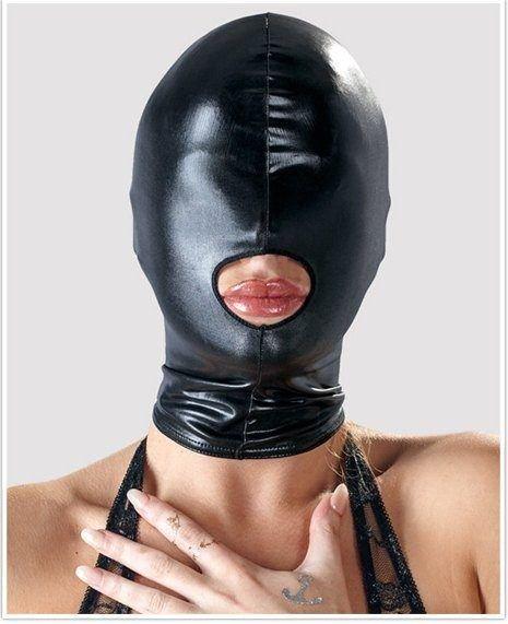 Wetlook Kopfmaske in Schwarz
