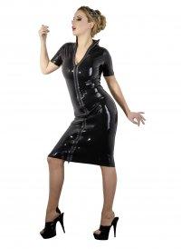 Latex-Kleid Latex Kleid Zip S