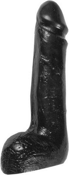 Schwarzer Analdildo Mathias 20x5cm