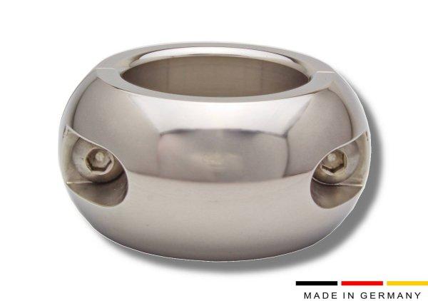 Polierter ovaler Ballstretcher aus Edelstahl