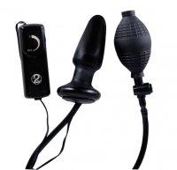 Vorschau: Aufblasbarer Lustzapfen mit Power-Vibration