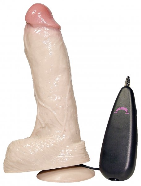 Naturvibrator Real Playboy - Ø 5,2 x 23 cm
