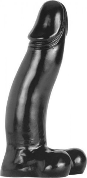 Der Monster-Dildo Black Gerhard 42x10cm