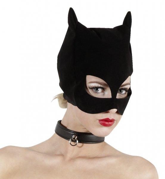 Kopfmaske in Katzenform