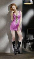 Vorschau: Lack-Kleid - ein pinker Blickfang