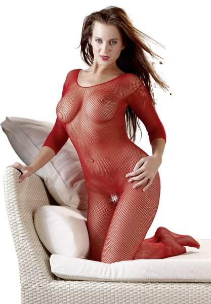 Catsuit rot S-L