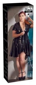 Kleid aus Lack
