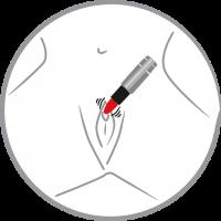 Vorschau: Mini-Vibrator Kiss me Lipstick