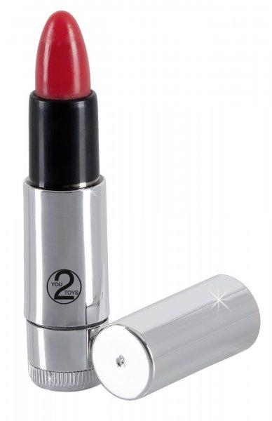 Mini-Vibrator Kiss me Lipstick
