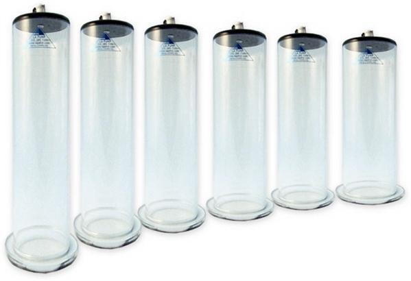 Penispumpen-Zylinder mit hohem Tragekomfort