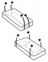 Vorschau: Wraparound Mattress Restraints