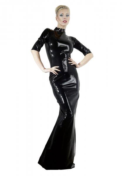 Latex-Kleid