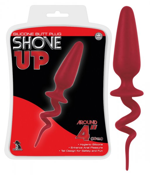 Shove Up Tail Plug in Rot XL